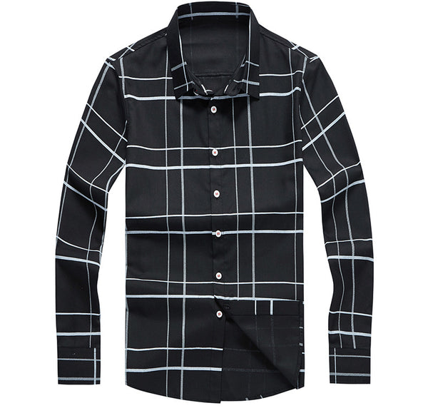 Brand Men's Shirt Casual Shirt Men