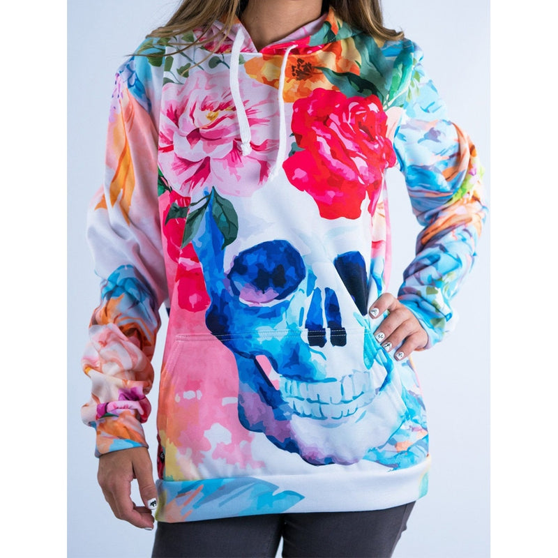 2019 New Arrivals Fashion 3D Print Kawaii Sweatshirt Femmes Sweatshirts Hoodies Women Youth Female Pockets Creative Plus Size