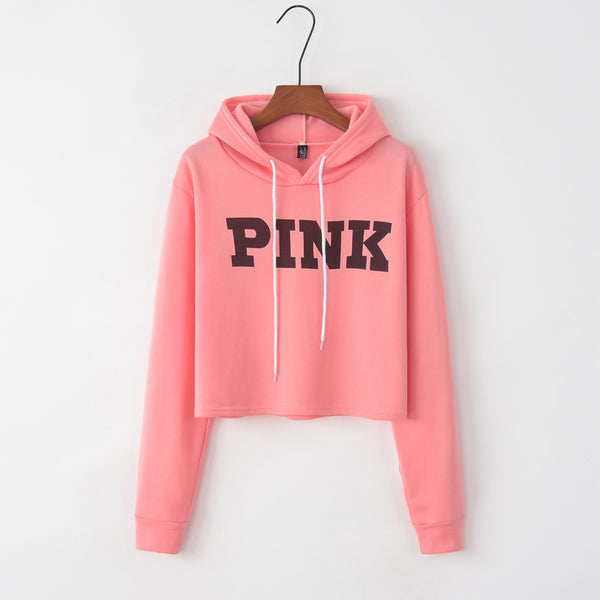 Short Hooded Sweatshirt for Women