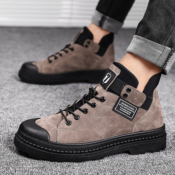 Winter Men's Boots Warm Leather Male Waterproof | Bottes pour Homme Cuir