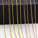 Beadsnice wholesale silver chain 925 sterling silver jewelry material oval chains for necklace making sold by meter ID33870