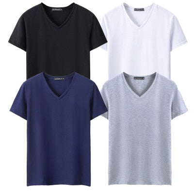 Solid color Cotton T Shirt Mens Black White T-shirts 2018 Summer Skateboard Tee Boy Hip hop Skate Tshirt Tops