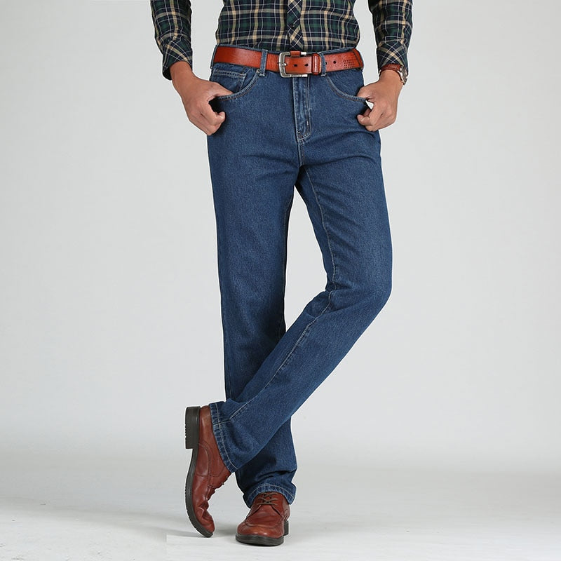 Cotton Jeans Male Denim Pants HQ