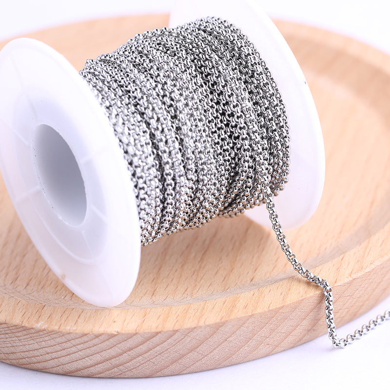 Stainless Steel Jewelry Chains For Jewelry Making Repair