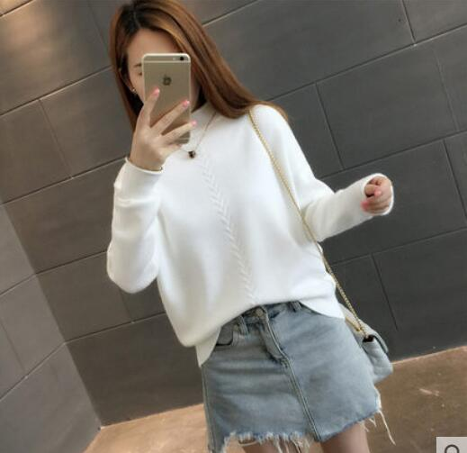 Fdfklak Winter sweater women thick warm pullover jumper turtleneck knitted sweaters cashmere sweter short knit top jersey mujer