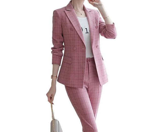 Pant Suit Blazer Ladies Jacket