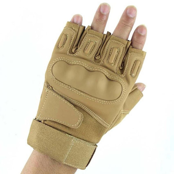 Tactical Gloves HQ Leather Army Gloves Protection