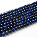 LanLi 4/ 6/8/10/12mm Fashion Natural Jewelry Tiger eye stones Loose Stone Jewelry Beads be fit for DIY Bracelet Necklace