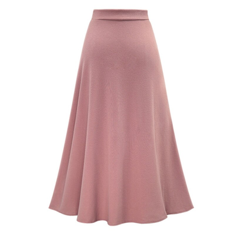 Long Skirt Female Bottoms for Women