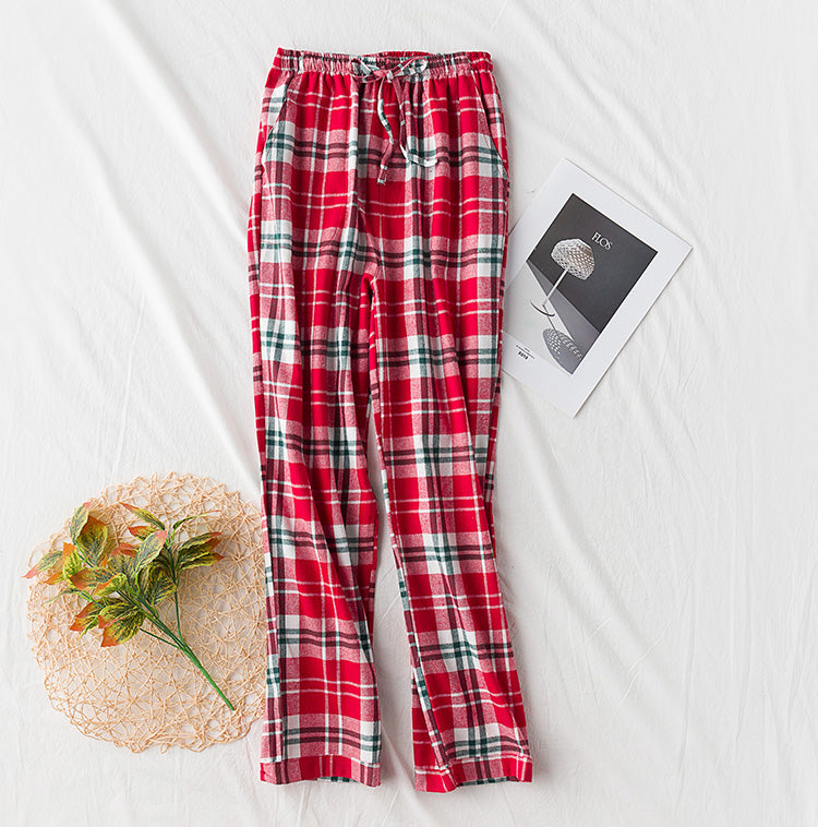 Sleep Pants Cotton Female Trousers for Women