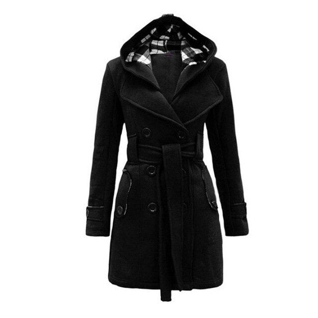 Coats for Women with Hat