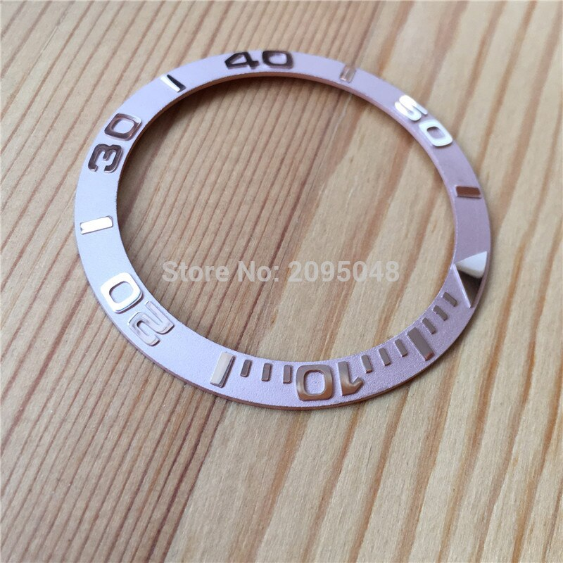 aluminium alloy bezel for Rolex Yacht-Master 40mm automatic watch 116621 116622 126622