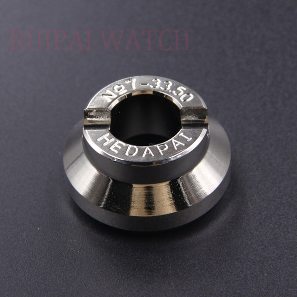 Free Shipping Stainless Steel Watch Tool Back Case Opener 33.5mm Watch Opener Die for Rlx