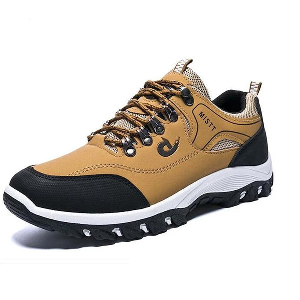 Men Shoes Sport Hiking Leather Sneakers | Chaussures Homme Printemps