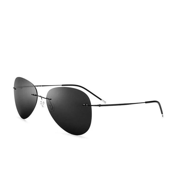 Men's Ultralight Rimless Sunglasses