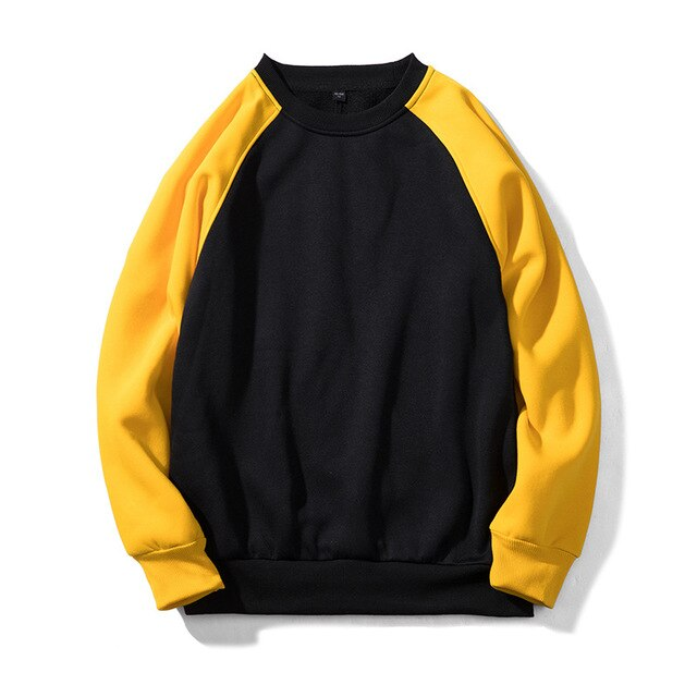 Moonspecial Brand Men Casual Hoodies Sweatshirt  New Spring Solid Color Fleece Polyester Pullover Coat Warm Hoodies Male EU size