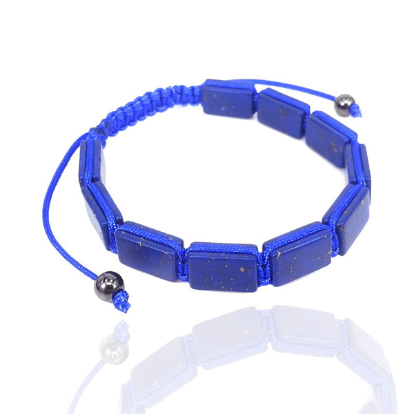 Lapis Lazuli Bracelets men natural stone jewelry High Quality Lapislazuli