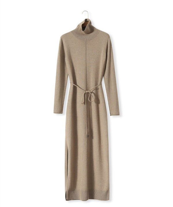 Women Cashmere Dress Wool Knitting