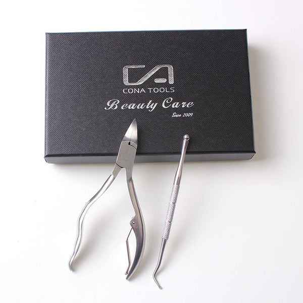 Nail Correction Lifter Set Nail Clipper Cuticle Scissor with Ingrowing Toenail Cleaner Toe Cuticle Nipper Pedicure Tool