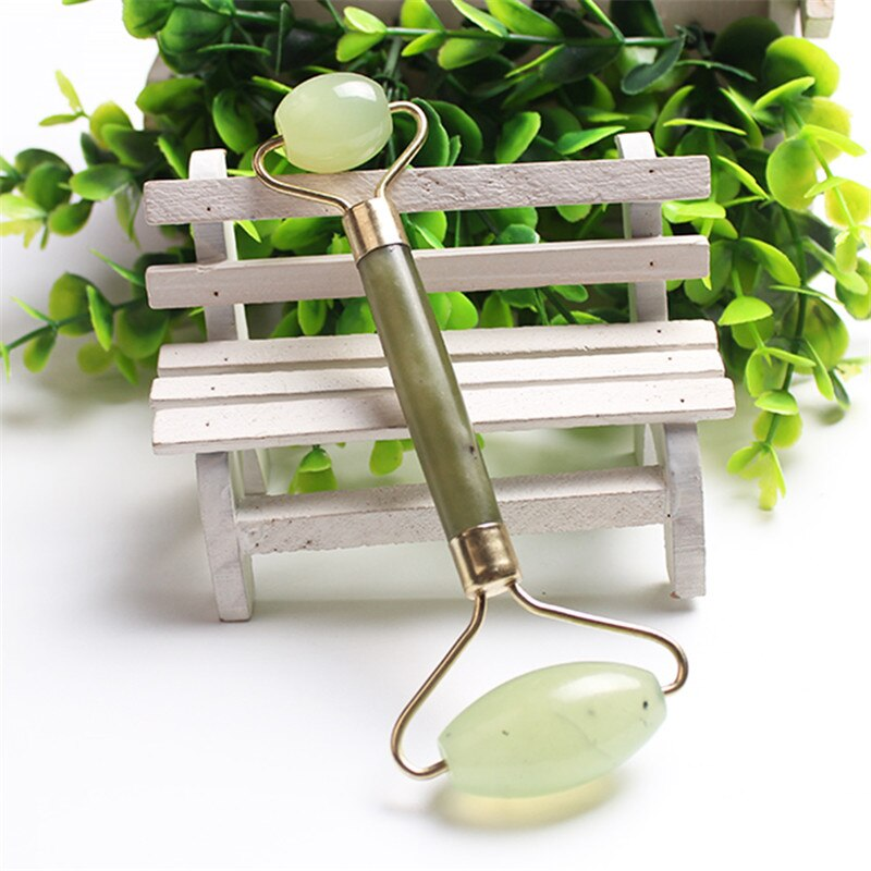 Face care Portable Jade Facial Massage Roller Shrink Pores Anti-Wrinkle Skin  Heathy Facial Relaxation Nature Beauty Tools