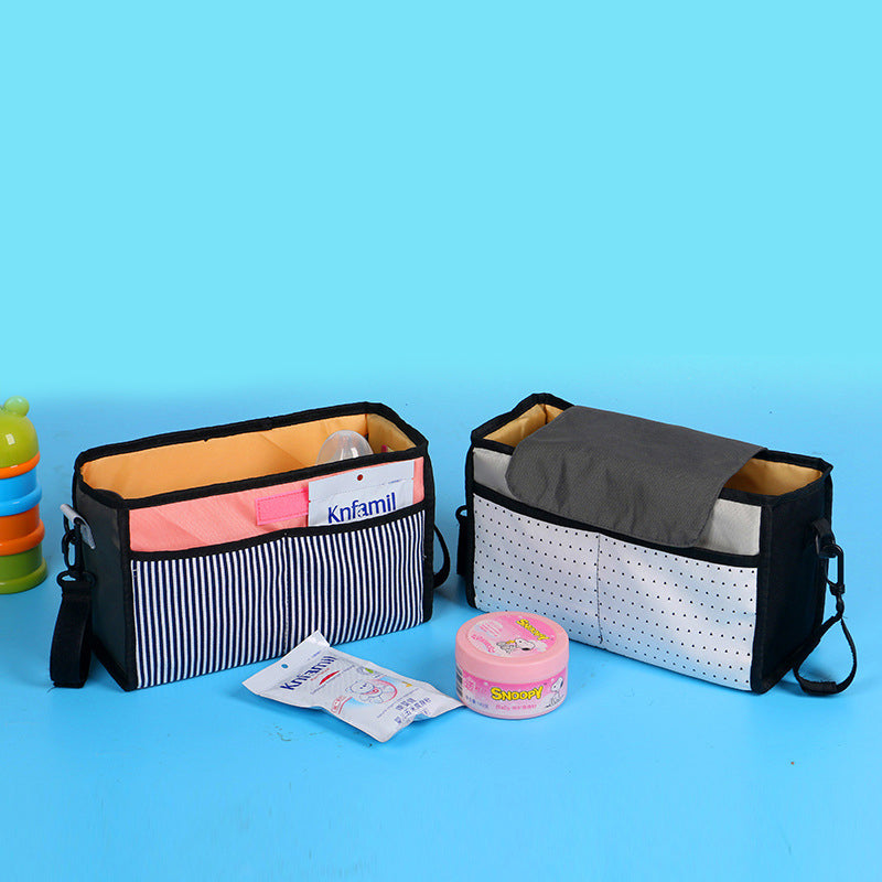 2 Colors Mummy Storage Bag Diaper Bag Baby Milk Bottle Insulation Bags for Baby Stuff Collection Stroller Accessories Baby Care