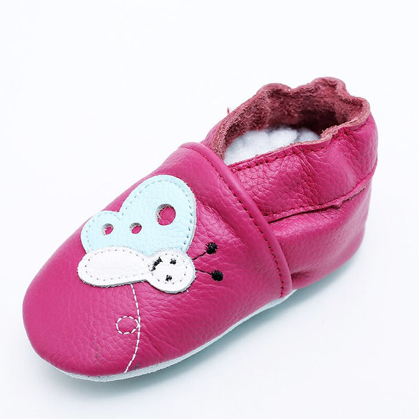 Baby Boy Girl Shoes First Walkers Newborn Sloffen Shoes Soft Sole Leather Moccasins Infant Bebek Ayakkabi Slippers Kids Bebes