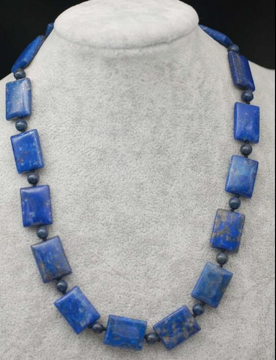 Lapis Lazuli & Iron Alloy Necklace for women