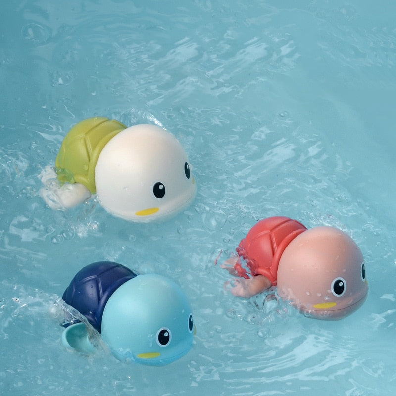New Shower Baby Toys Cute Duck Penguin Egg Bath Toys Water Spray Sprinkler Bathroom Sprinkling Swimming Toddler Toys