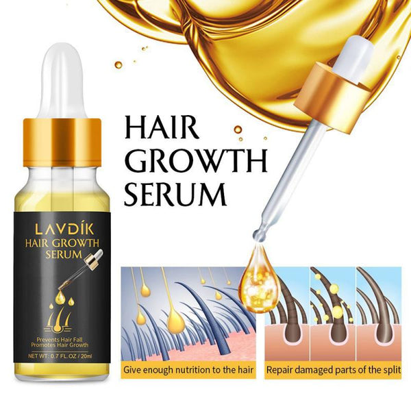 Ginger Fast Popi Hair Growth Serum Essential Oil