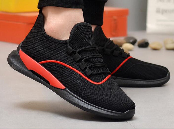 Sport men's low-top breathable casual mesh shoes