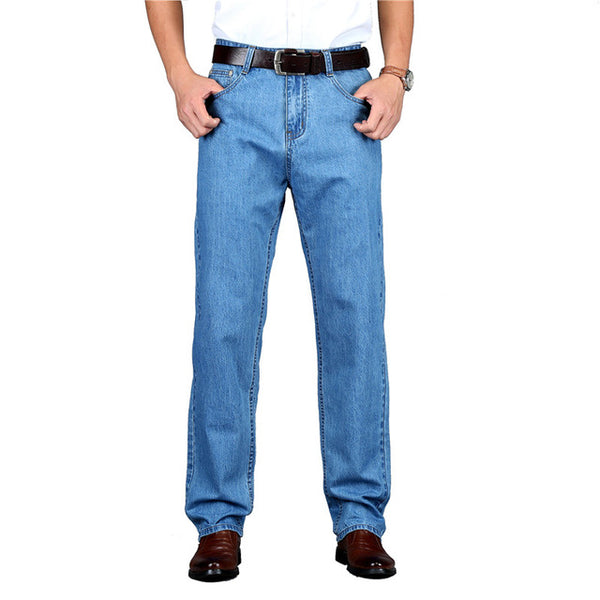 Men Classic Cotton Jeans HQ