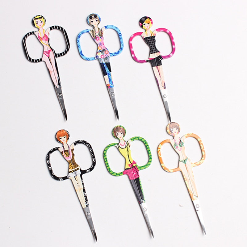 Dead Skin Remover Sharp Makeup Eyebrow Scissors