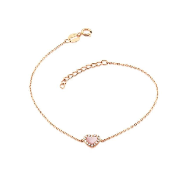 Women's Bracelet Rose Gold and Diamond