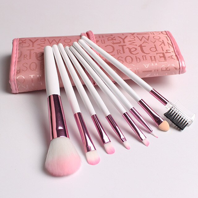 Makeup Brush with Pouch Bag Case