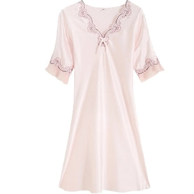 Home Wear Nightie Lingerie Dress for Women