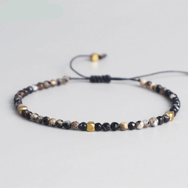Yoga Chakra Bracelet with Natural Stones Beads Women/Men