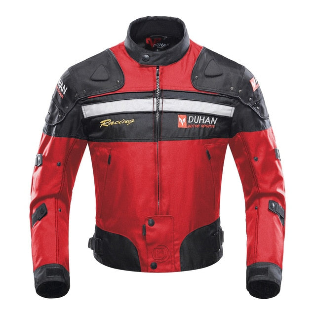 Jacket For Men Moto Windproof Coldproof Protector For Winter And Autumn