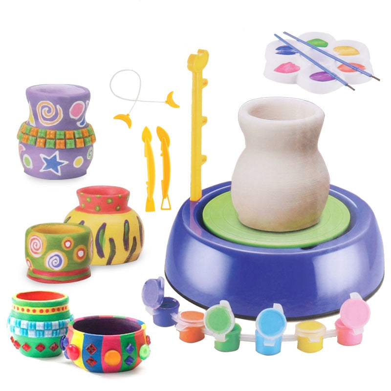 Ceramic Art Machine Toys for Kids Children