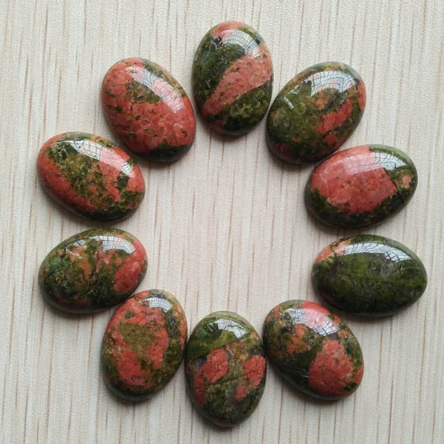 Free shipping 20pcs/lot Wholesale 18x25mm 2018 hot sell natural stone mixed Oval CAB CABOCHON teardrop beads for jewelry making