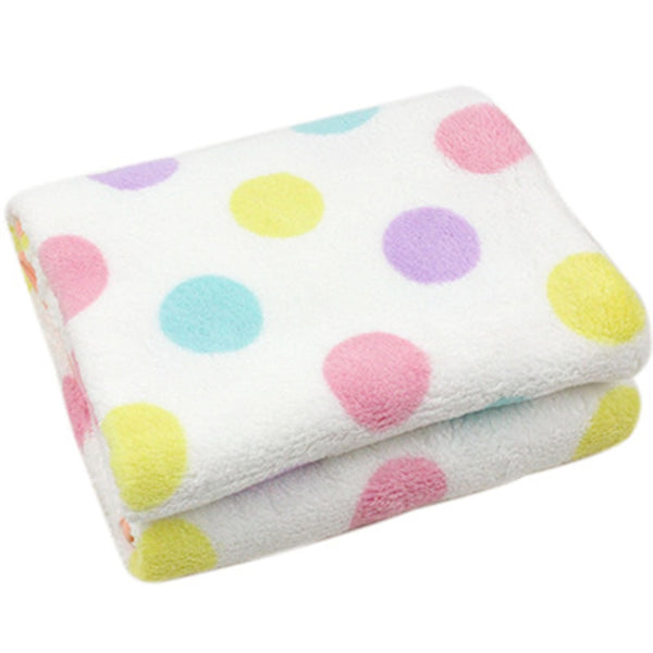Baby Blankets 2018 Winter Thicken Fleece plush Coral Warm Blanket Baby Stroller Swaddle Wrap Newborn Baby Bed Blanket 100*75m