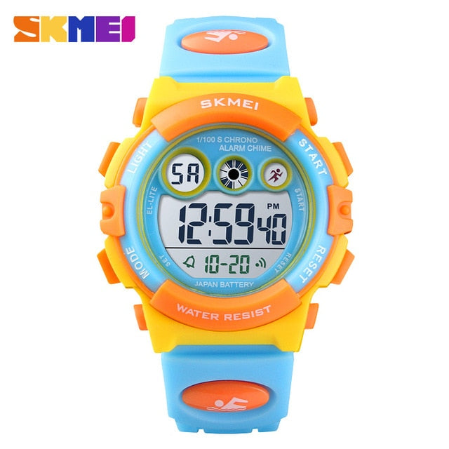 Sport Children Watch Waterproof LED Digital Kids Watches Luxury Electronic Watch for Kids Children Boys Girls Gifts
