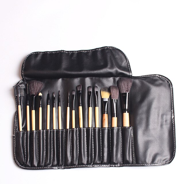 Makeup Brushes Tools Natural Soft Bristles Foundation Blush Eyeshadow Cosmetics Brush Beauty Essentials Make Up Brushes