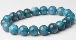 LanLi 8mm fashion Jewelry Blue Kyanite stones loose beads bracelet be fit for Glamour rmen and women amulet