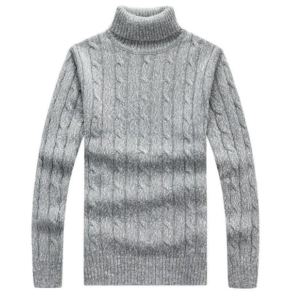 Fashion Turtleneck Men Sweater