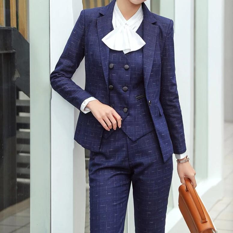 Business Suits Pants & Jackets Waistcoat for Women