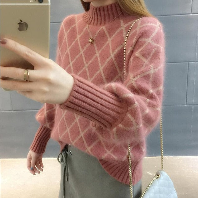 sweaters fashion 2019 women turtleneck female cashmere sweater vintage pullover fashions woman women's sweater female cashmere