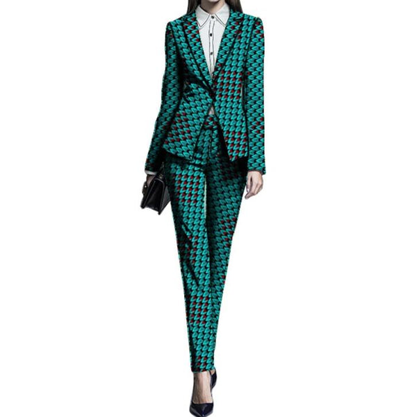 Suit Women Clothes Blazers & Trousers