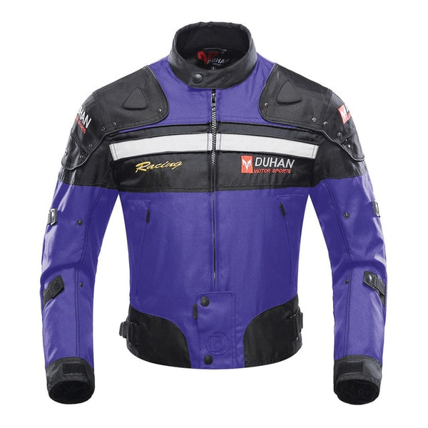 Men Motorcycle Jacket Windproof Motorbike Jacket
