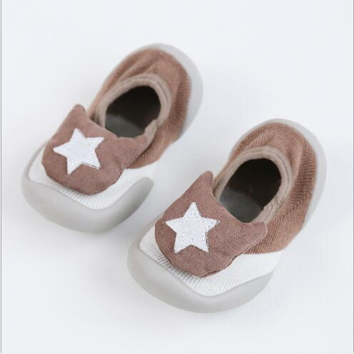 2019 Spring Summer New Baby Floor Shoes Socks Non-slip Soft Bottom Shallow Mouth Toddler Socks Children Shoes Firs Walker