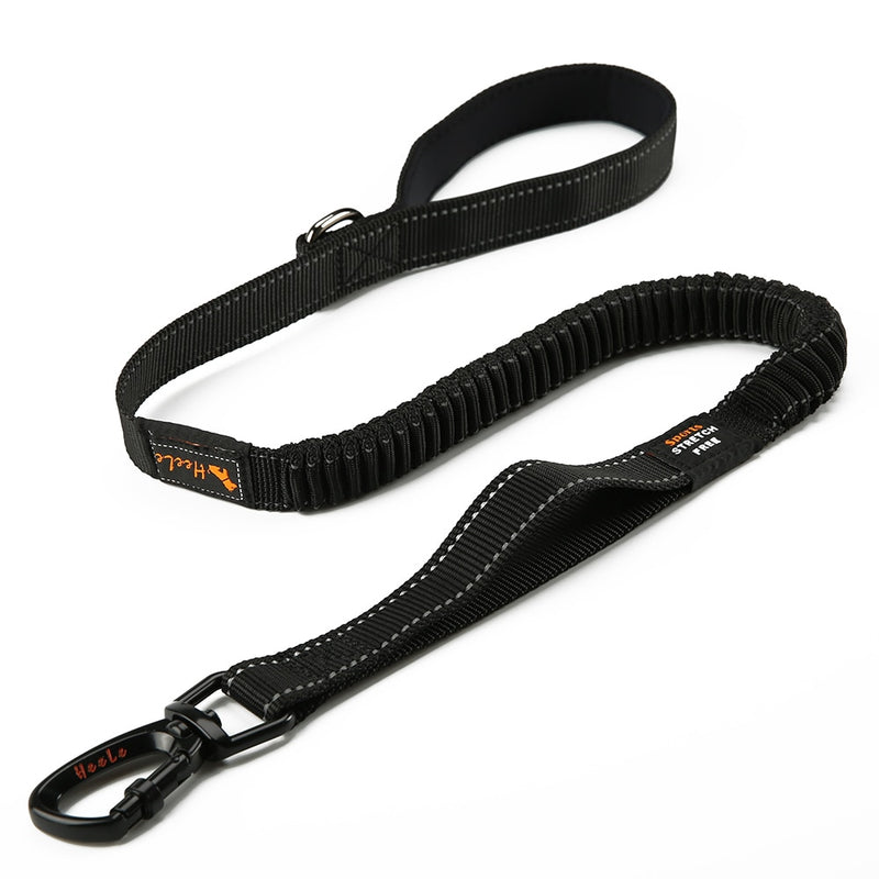 Elastic Bungee Dog Leash Rope Nylon Leash Running Comfortable Padded Handle Reflective Durable Leash For Dog High Quality